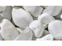 Marshall's Spanish White Stones / Cobbles 40-75mm