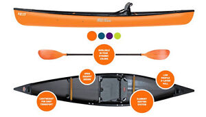 Old Town NEXT Hybrid Solo Canoe - BRAND NEW FOR 2017