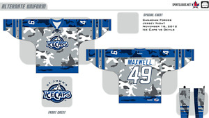 LOOKING FOR: IceCaps military jersey