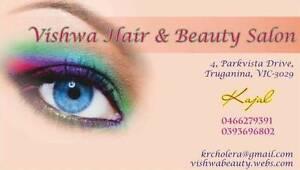 VISHWA HAIR & BEAUTY Truganina Melton Area Preview