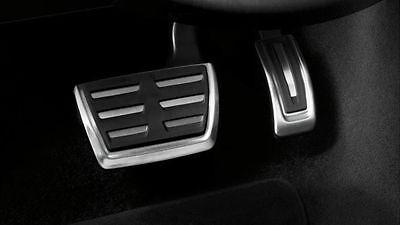 Original Audi A4/A5/Q5 Aluminio Kit de Pedales Acero Pedal Caps Para Automático