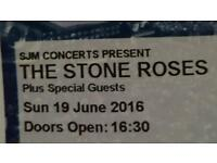 Stone roses Sunday standing 19th june