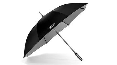 Genuine Audi Large Umbrella with reflective inserts - black / titan
