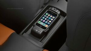 Original Audi iPhone 6 und 6s Handyadapter 8T0051435P Apple iPhone 6 Ladeschale