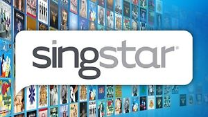 Sing star ps2 and ps3