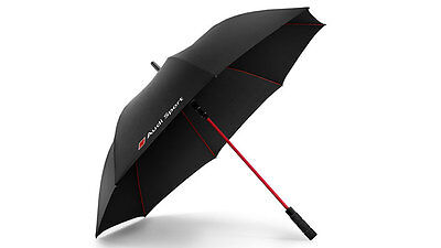 Genuine Audi Sport Black Umbrella
