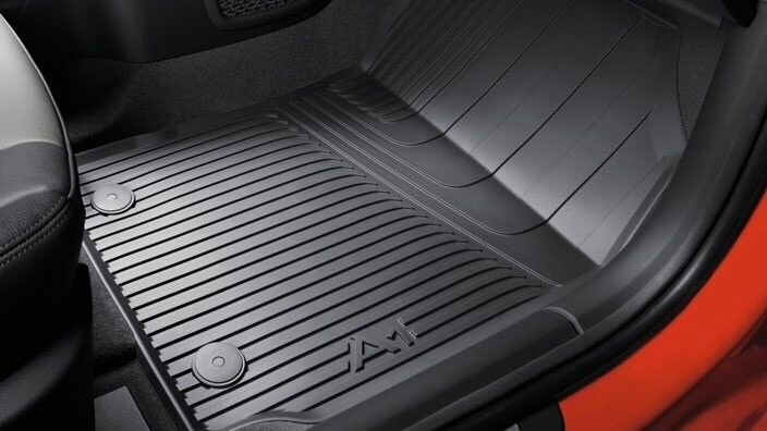 Rubber Car Mats Genuine Audi A1 Rubber Floor Mats Front And Rear