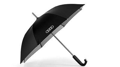 Genuine Audi Small Umbrella with reflective inserts - Black / titan
