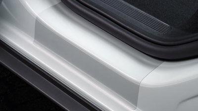 VW Original T-Roc Schutzfolie transparent hinteren Türschweller  2GA071310 908