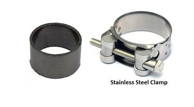 EXHAUST SEAL AND CLAMP TO SILENCER <em>YAMAHA</em> FZR 1000 RU EXUP FOXEYE 1994