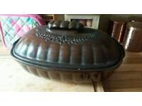 Rare large W Germany bakeware Now £25