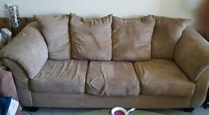 Couch and loveseat, Mismatched - good used condition