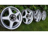 """16's Genuine alloys"""" BROCK B1"""" 5x112 /5x100 J7.5/J9 ET20/ET15 GOLF VR6 CORRADO,CUPRA,AUDI"""