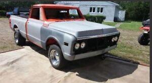1972 GMC short box project truck