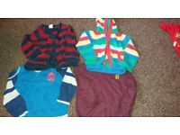 Assortment of boys clothes lots of sizes from new born to 6 years