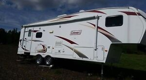 29th 2012 Coleman 5th wheel camper