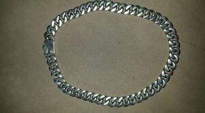Solid Sterling Silver Thick Chain