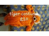 Tiger and cowboy costume fancy dress