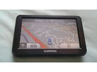 Garmin nuvi 50LM sat nav GPS - fully working - great condition