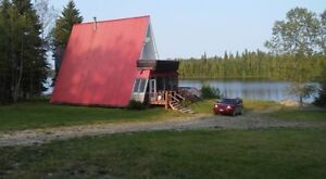 COTTAGE - water front (4 season) access yr round HEARST ON  area