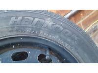 Hankook Steel wheel & tyre 175/65 R14 Spare