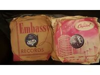 1950's 78 and 45 records