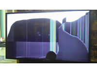 43 inch ultra HD LG TV damaged screen please see pics only few month's old