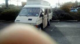 Renault traffic campervan
