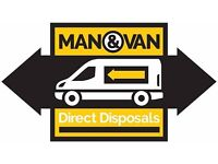 CHEAP RUBBISH REMOVALS MAN AND VAN OFFICE HOUSE CLEARANCE WASTE JUNK COLLECTION FURNITURE DISPOSAL