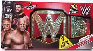Wwe talking championship belt