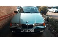 2 x bmw e36 breaking for parts and spares only