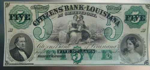 1857 $5 Citizens