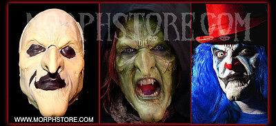 50% off normal price Halloween/Foam latex/witch/clown/Face/Brows/Mask/lot.  (Foam Latex Clown Mask)