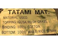 Tatami mat, suitable to use as mattress