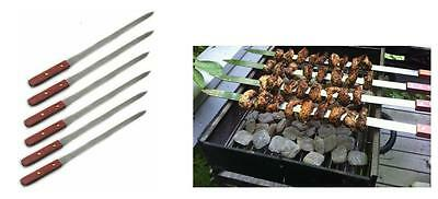 - 23 Inch Long Large Stainless Steel Brazilian-Style Barbecue Skewers For Parties