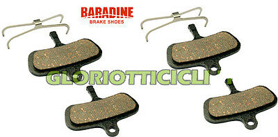 Baradine Set 4 Pastilla de Freno Sinterizado X Avid Code