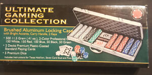 Premium Poker set with Carrying Case