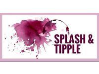 Splash & Tipple - 3 September at 19:30–21:30