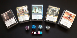 Magic the Gathering STARTER KIT - 5 decks! Ready for 2-4 players