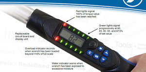 """New never used JET 1/2"""" DR DIGITAL TORQUE WRENCH"""
