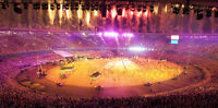 2 Pan Am Opening Ceremony Tickets - Cirque Du Soleil