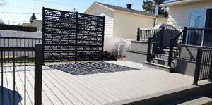 Terrasse, deck, patio, galerie, pergola etc.