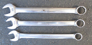 Snap-on Standard Length SAE Combo Wrenches - CANADA!