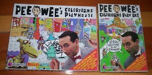 Pee Wee Herman Colorforms Playhouse Set - 2 available