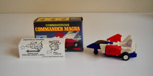 1985 Vintage Transformers - Tomy - McDonalds Commandrons