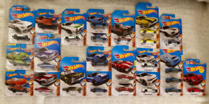 Hot Wheels Diecast Cars - Muscle Mania