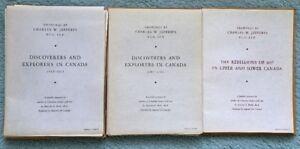 C.W. Jefferys portfolios of Canadian History