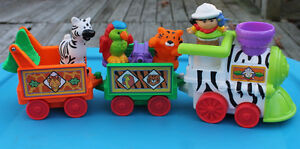 ReducedVintage Fisher Price Little People  Circus Train  Playset