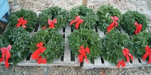 CHRISTMAS WREATHS STARTING AT $5 EACH AND UP