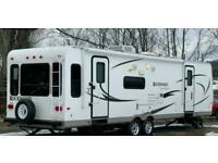 2010 Forest River Rockwood Signature 1 BED American Caravan RV 5th Wheel Static